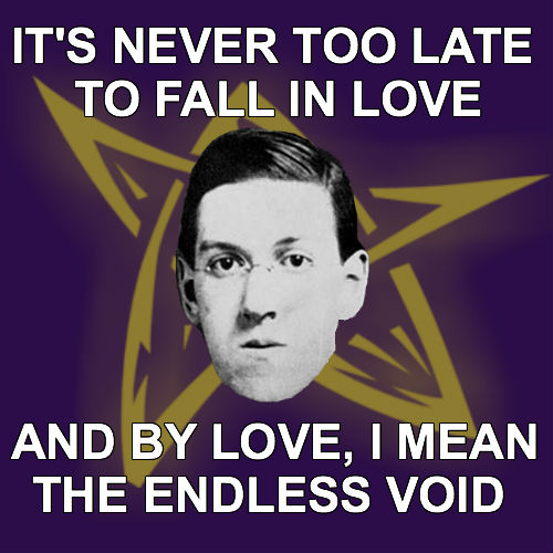 love is an endless void