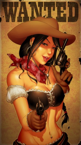 wanted cowgirl 282x500 wanted cowgirl