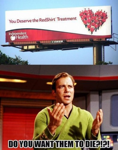 the red shirt treatment