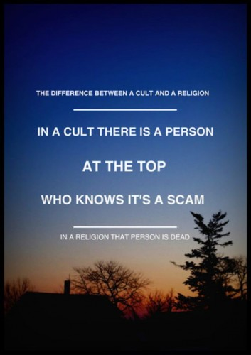 the difference between a cult and a religion 353x500 the difference between a cult and a religion
