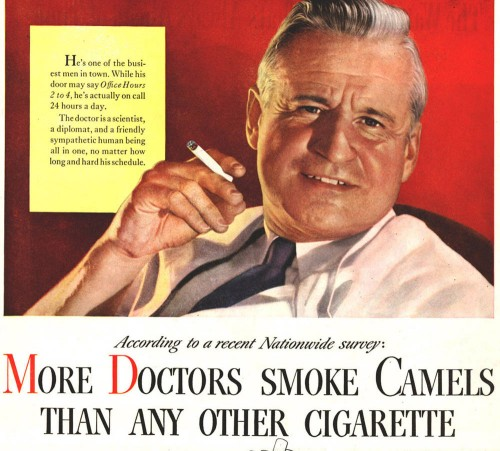 More doctors smoke camels than any other cigarette 500x451 More doctors smoke camels than any other cigarette