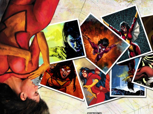 spider woman in photographs 500x375 spider woman in photographs