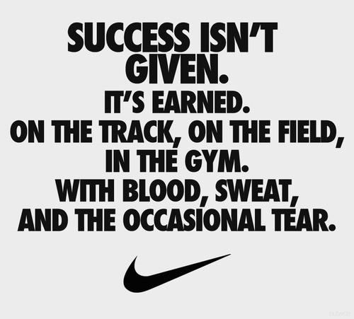 success isnt given success isnt given