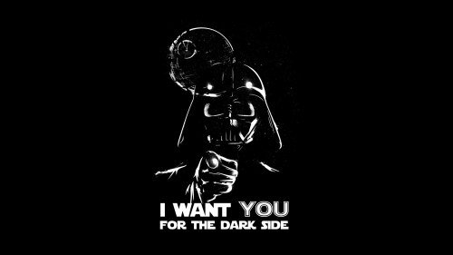 I want you for the dark side 500x281 I want you for the dark side