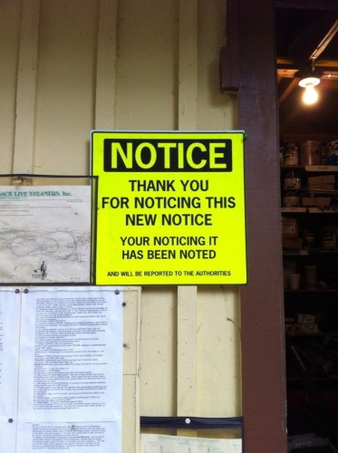 Notice Thank you for noticing this new notice 373x500 Notice   Thank you for noticing this new notice