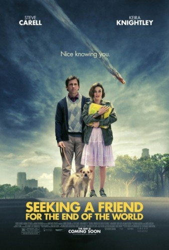 Seeking a Friend for the End of the World movie poster 337x500 Seeking a Friend for the End of the World movie poster