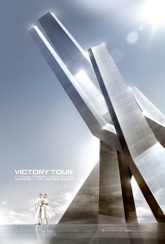 hunger games catching fire victory poster 337x500 hunger games   catching fire victory poster