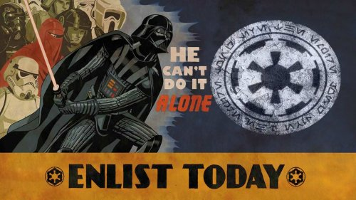 star wars he cant do it alone ENLIST TODAY 500x281 star wars   he cant do it alone   ENLIST TODAY