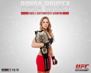 Ronda Rousey with a belt.jpg