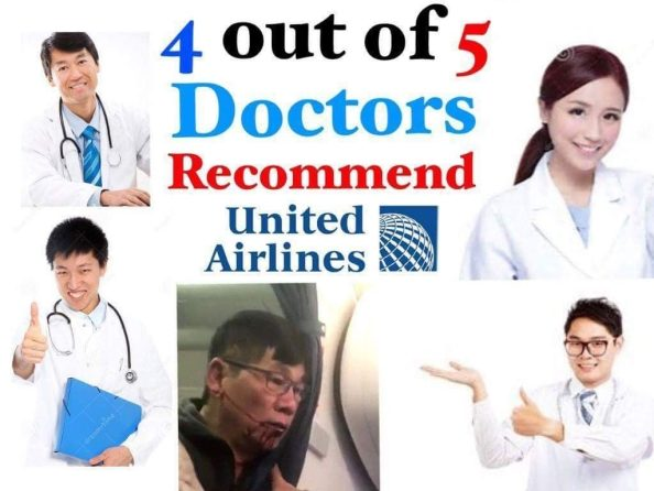 4 out of 5 doctors recommend United Airlines 1024x768 4 out of 5 doctors recommend United Airlines