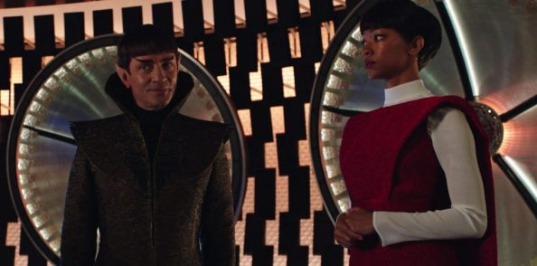Sarek delivers Michael to the USS Shenzhou 1024x507 Sarek delivers Michael to the USS Shenzhou