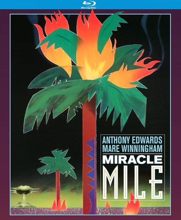 Miracle Mile Blu Ray Disc Cover 844x1024 Miracle Mile Blu Ray Disc Cover