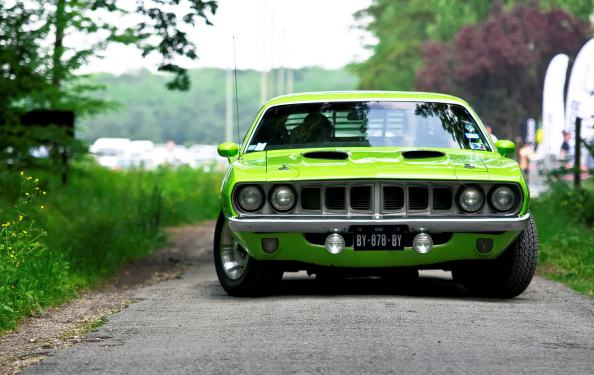 Plymouth Barracuda wallpaper 1024x647 Plymouth Barracuda wallpaper