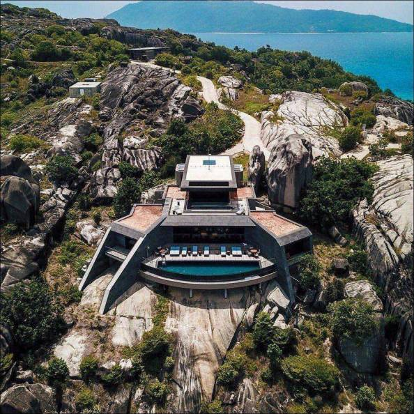 cliff side pool house cliff side pool house