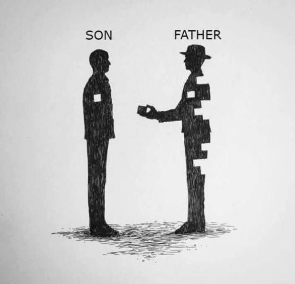son and father son and father