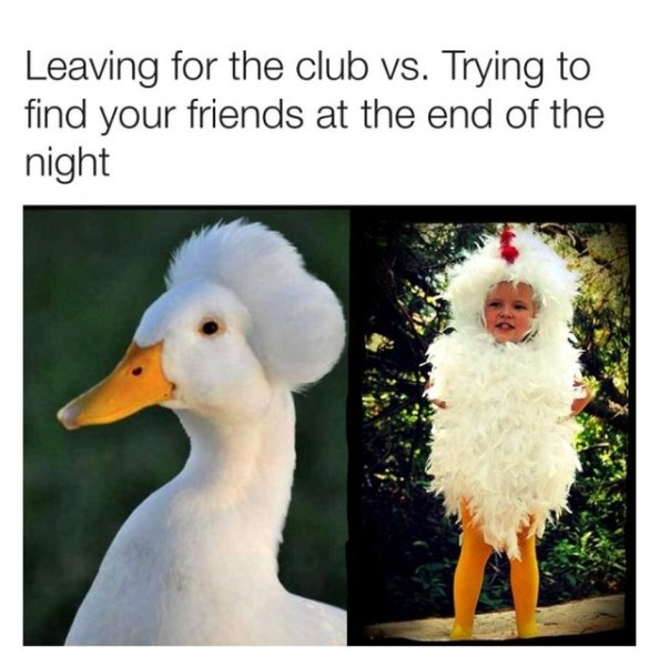 leaving the club vs the end of the night leaving the club vs the end of the night