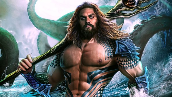 Aquaman is swoll
