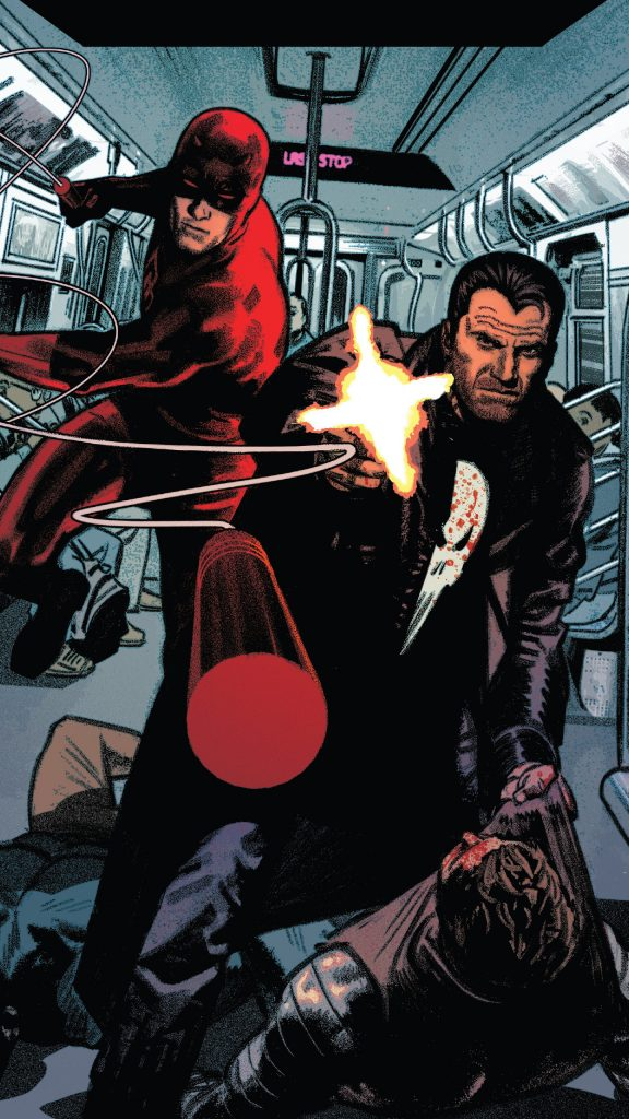 Punisher and Daredevil Teaming Up 576x1024 Punisher and Daredevil Teaming Up