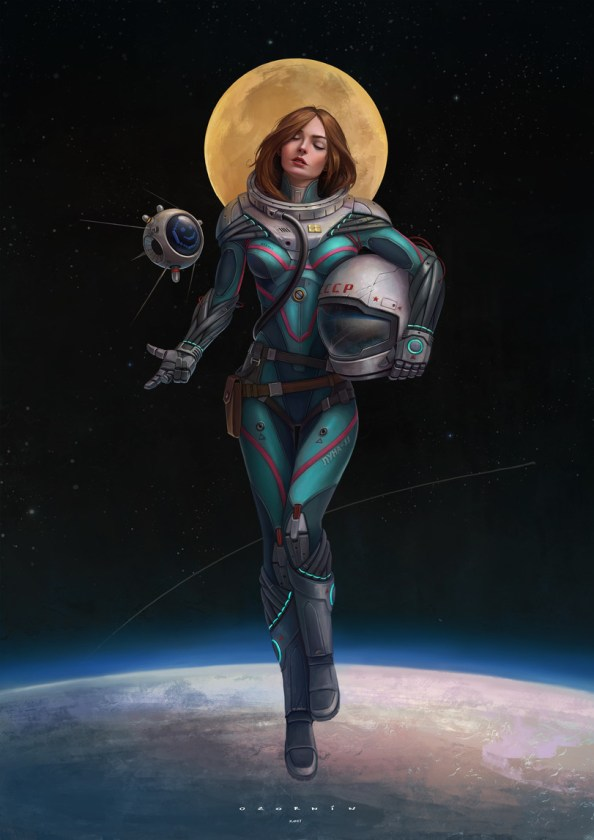 Russian Space Lady
