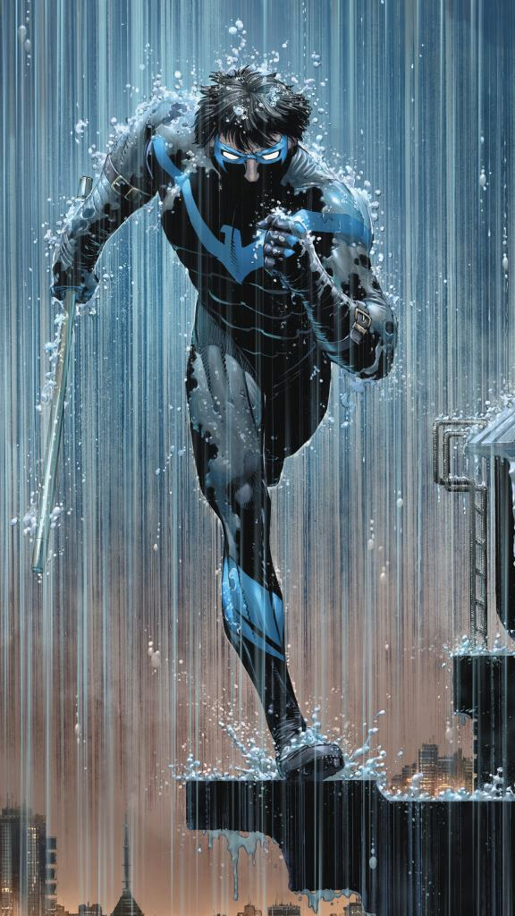 nightwing runs