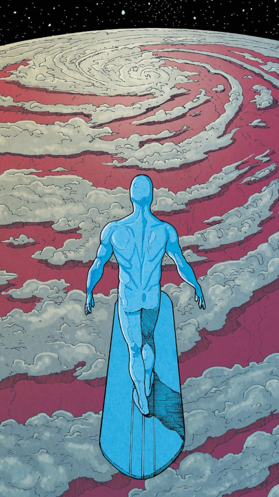 silver surfer over clouds 576x1024 silver surfer over clouds