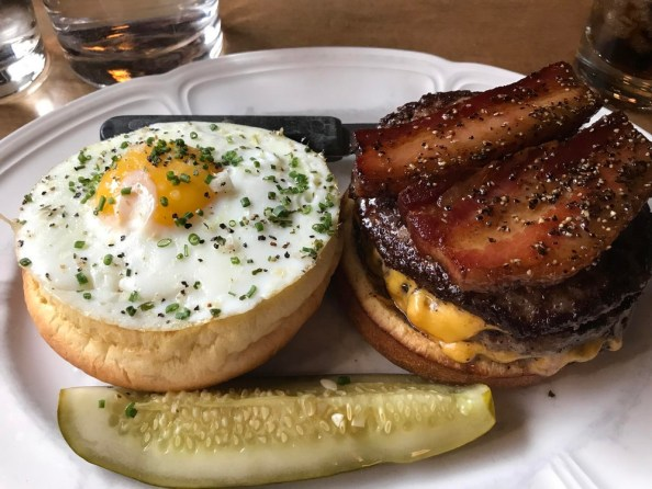 bacon and egge burger bacon and egge burger
