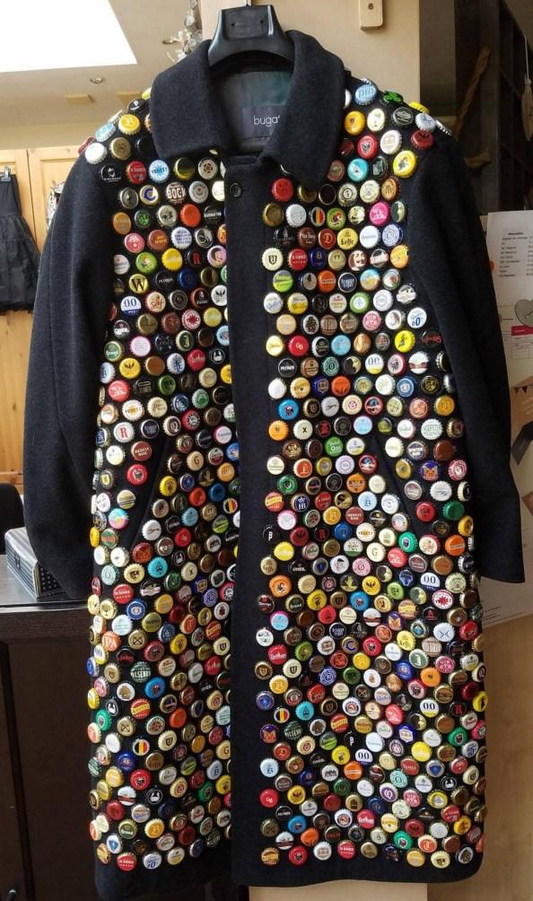 bottle cap jacket