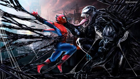 spider man dancing with venom 1024x580 spider man dancing with venom