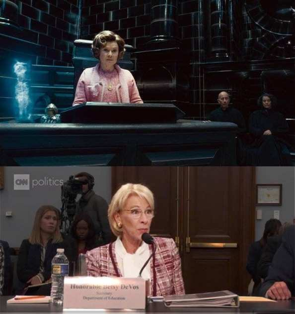 The Honorable Betsy DeVos