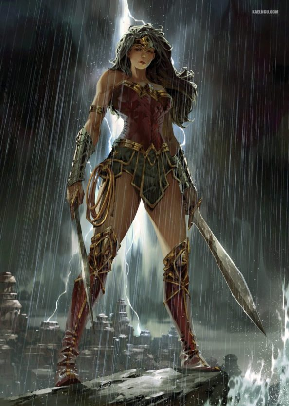 Wonder Woman by Kaelngu 728x1024 Wonder Woman by Kaelngu
