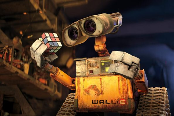 wall e and a cube 1024x683 wall e and a cube