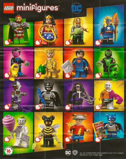 LEGO Collectable Minifigures Series DC Super Heroes 71026