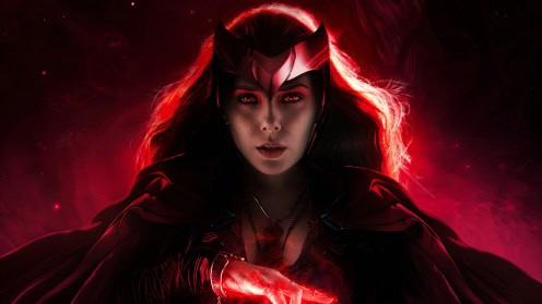 The Scarlet Witch is Red