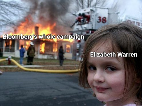 bloomberg's whole campaign