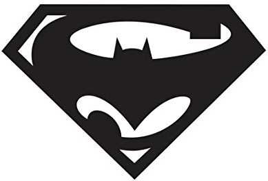 Superman  Batman Logo