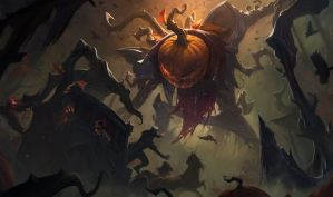 Pumpkinhead Fiddlesticks by Jennifer Wuestling