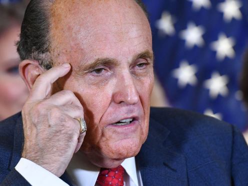 Giuliani sued for 13 billion by Dominion Voting systems over false election fraud claims