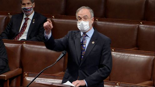 US Capitol Police investigate after report Rep Andy Harris brought gun to House chamber checkpoint