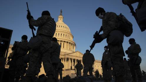 Defenders of Freedom in the US Capitol