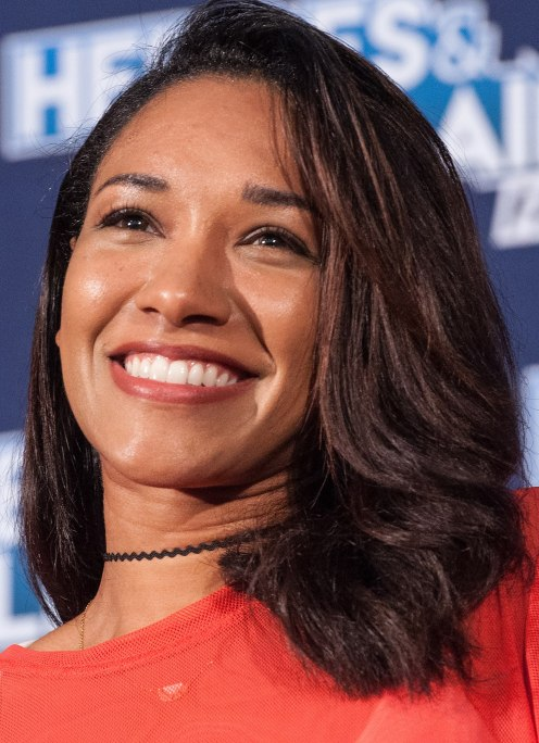 Candice Patton is Glowing