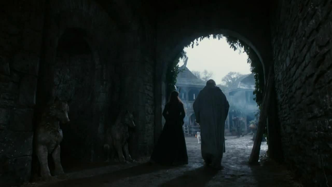 Entrada das criptas dos Stark