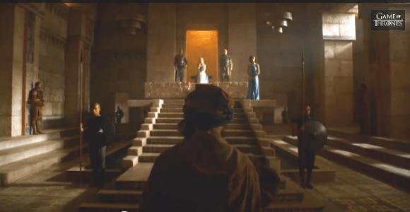 Rainha Daenerys Meereen drunkwookieblog