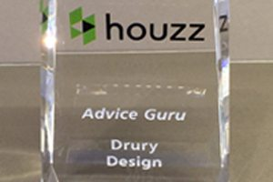 Drury Design Honored with Houzz Advice Guru Award