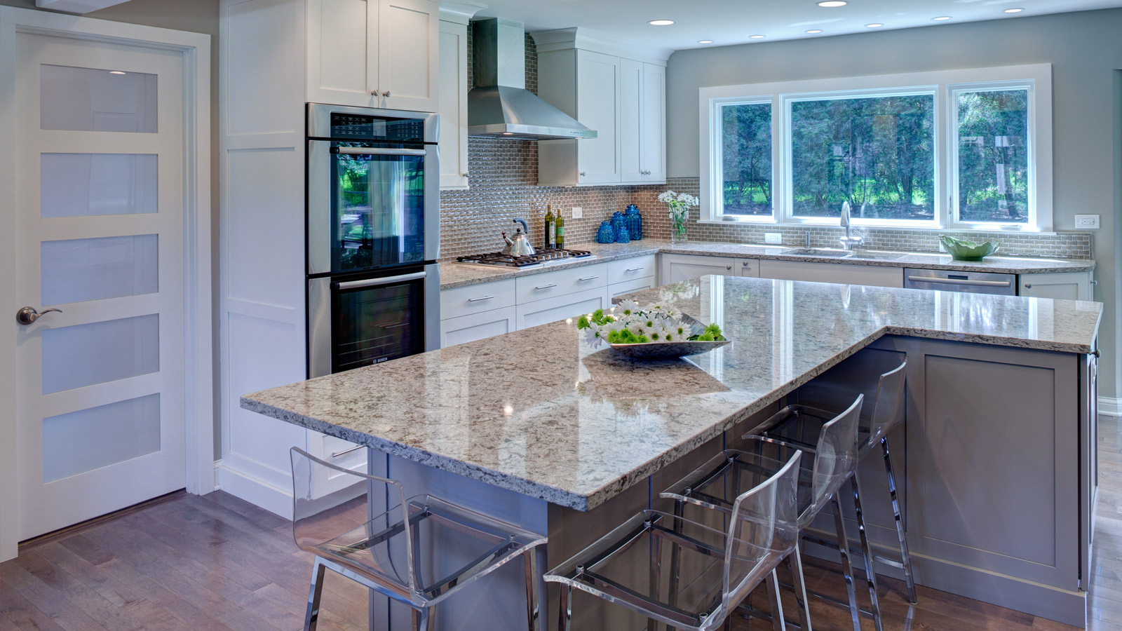 2013 Award-Winning Transitional Kitchen Remodel - Drury Design