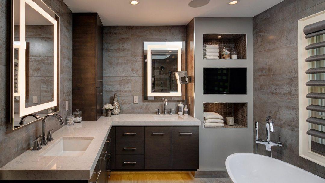 Dreamy spa inspired master bath remodel drury design