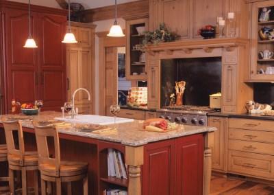 Rustic Burr Ridge Kitchen Remodel