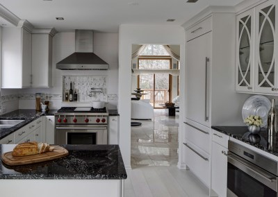 Refined Condo Kitchen – Darien