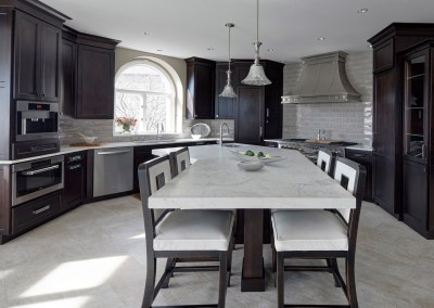Sophisticated Transitional Naperville Kitchen