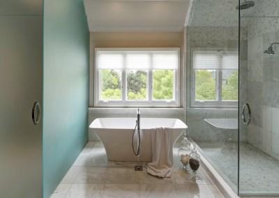Stylish Oasis Bathroom Design – Naperville, IL