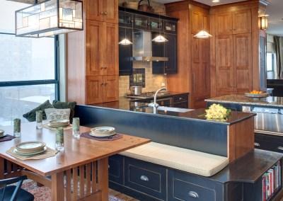 Updated Arts & Crafts Chicago Kitchen